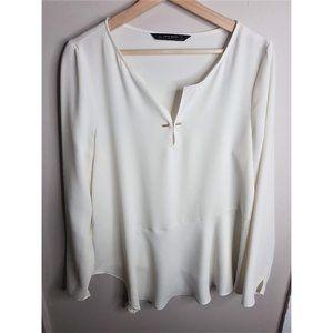 Zara asymmetrical blouse